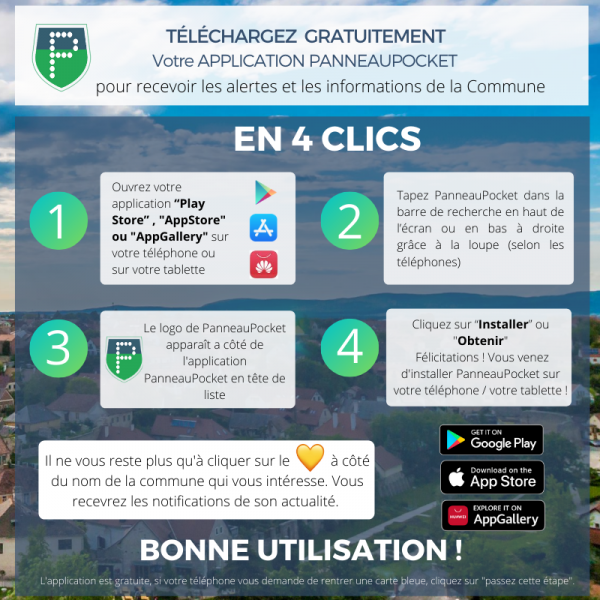 Guide telechargement app
