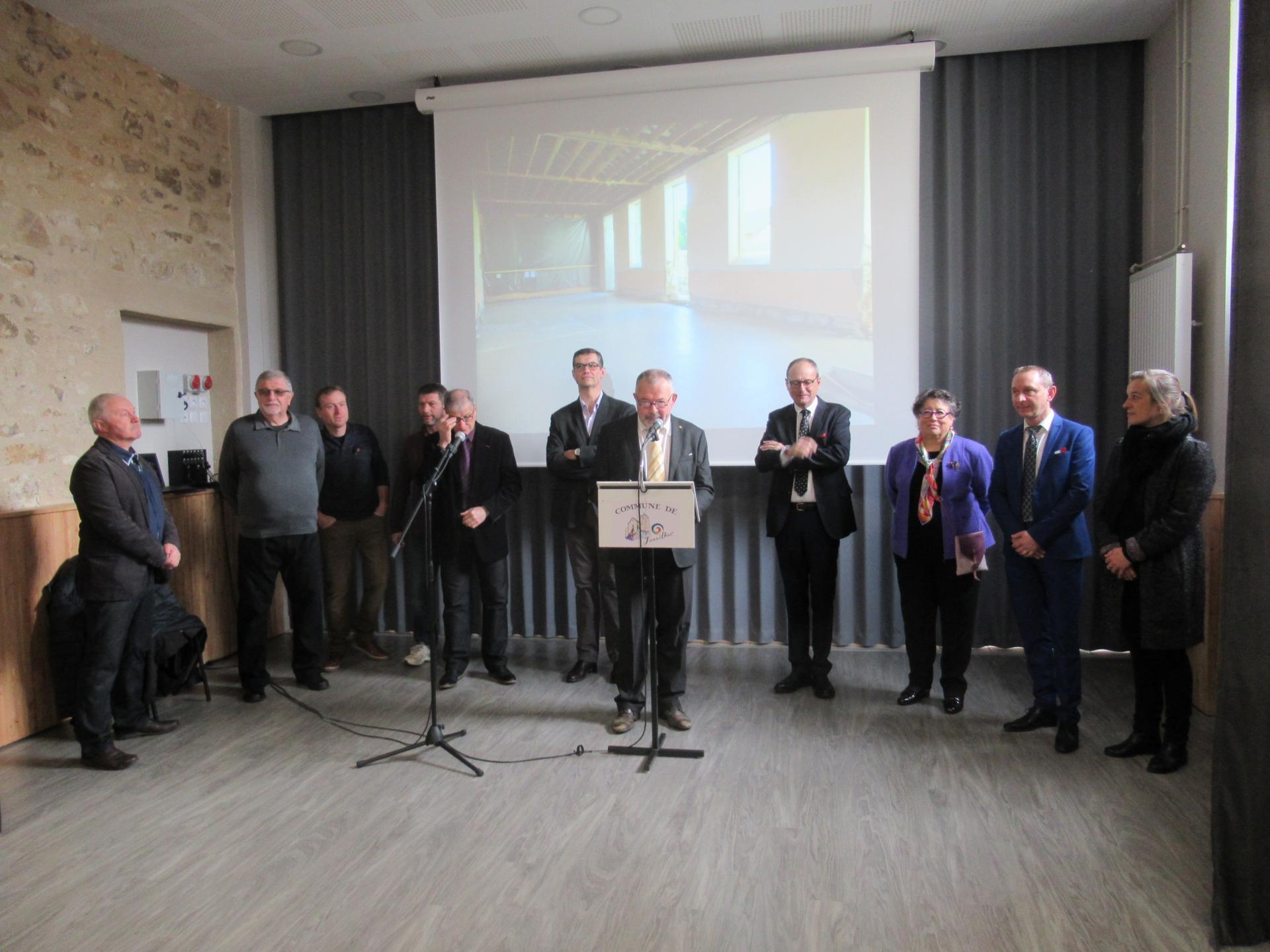 Inauguration Salle des Fêtes - mars 2019